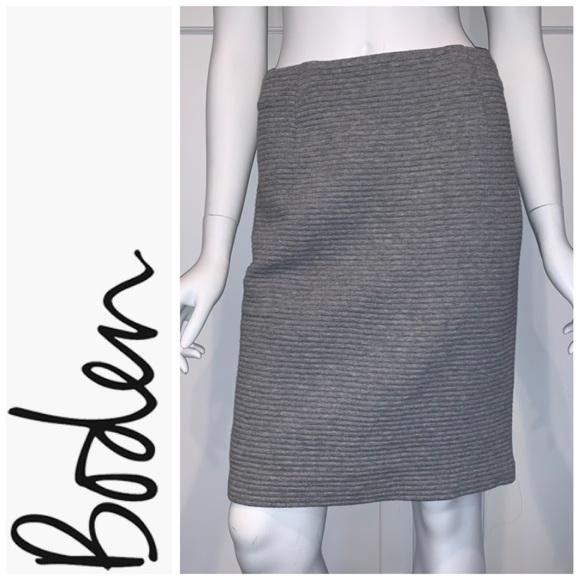 Boden Dresses & Skirts - Boden 'Hattie' Cotton Blend Pencil Skirt, Gray, 6